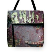 Train Door Tote Bag