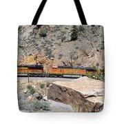 Train Engines Tote Bag