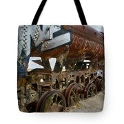 Train Graveyard Uyuni Bolivia 14 Tote Bag