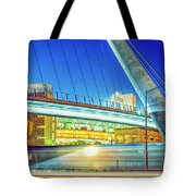 Train Keeps A Rollin Tote Bag