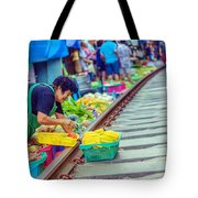 Train Market 2323 Tote Bag