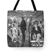 Train: Passenger Car, 1876 Tote Bag