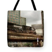 Train - Pittsburg Pa - The Industrial City Tote Bag