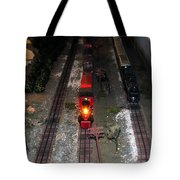 Train Set Tote Bag