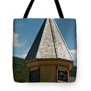 Train Station Spire Tote Bag