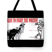 Train To Fight Tote Bag