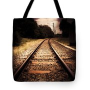 Train Tour Of Darkness Tote Bag
