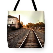 Sunrise At The Old Mill  Tote Bag