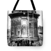 Train Waiting In Atchison Kansas Tote Bag
