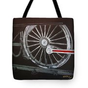Train Wheels 2 Tote Bag