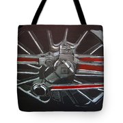 Train Wheels 3 Tote Bag