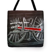 Train Wheels 4 Tote Bag