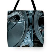 Train Wheels Tote Bag