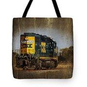 Train Yard 2 Tote Bag