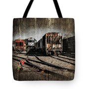 Train Yard Tote Bag