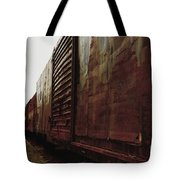 Trains 12 Retro Tote Bag