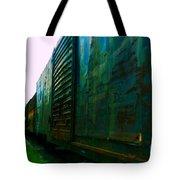 Trains 12 Selfoc Tote Bag