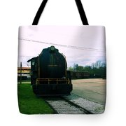 Trains 3 7 Tote Bag