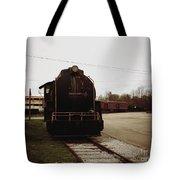 Trains 3 Retro Tote Bag