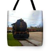Trains 3 Selfoc Tote Bag