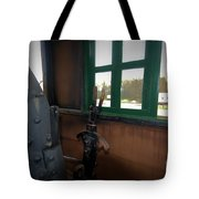 Trains 5 Vign Tote Bag