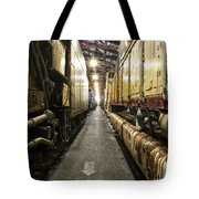 Trains Ancient Iron In The Barn Tote Bag