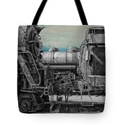 Trains Ancient Iron Sc Tote Bag