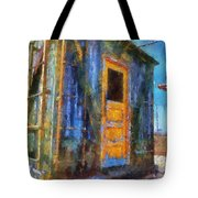 Trains Box Car Yellow Door Pa 02 Tote Bag