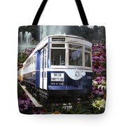 Trains Brookfield Zoo Trolley Car 141 Tote Bag