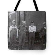 Trainsmen Tote Bag