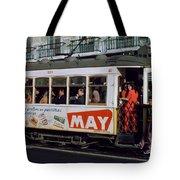 Tram 223, Graca, Lisbon, 1972 Tote Bag