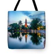 Tran Quoc Pagoda Tote Bag
