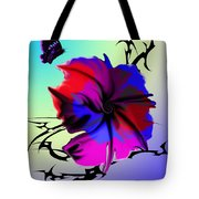 Trance Flower Tote Bag