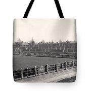 Tranmere Rovers - Prenton Park - Bebington Kop End 1 - Bw - 1967 Tote Bag