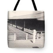 Tranmere Rovers - Prenton Park - Borough Road Stand 1 - Bw - 1967 Tote Bag
