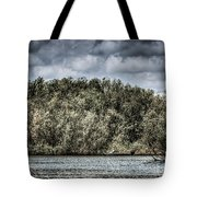 Tranquil Fishing Spot  Tote Bag