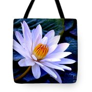 Tranquil Lily Tote Bag