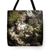 Tranquil Mountain Canyon Tote Bag