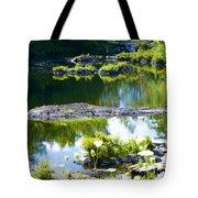 Tranquil Pond Tote Bag