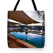 Tranquil Pool Tote Bag