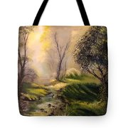 Tranquil Spring  Tote Bag