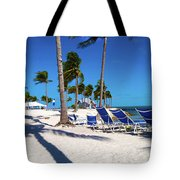 Tranquility Bay Beach Paradise Tote Bag
