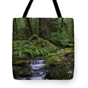 Tranquility In The Forest Tote Bag