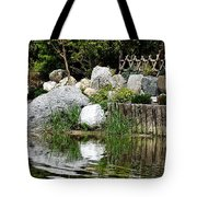 Tranquility In The Japanese Garden Tote Bag