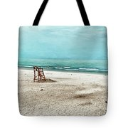 Tranquility On Tybee Island Tote Bag