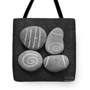 Tranquility Stones Tote Bag