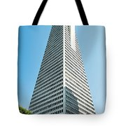 Transamerica Pyramid In San Francisco, California Tote Bag