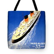 Transatlantic Ocean Liner Tote Bag