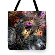 Transcendence In Retrograde Tote Bag