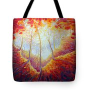 Transference Of Life Tote Bag